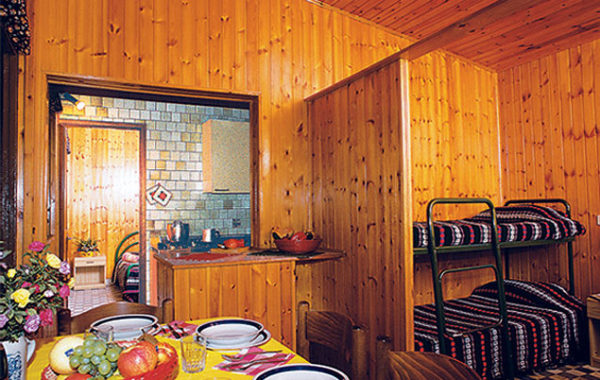 Domek Bungalow B6 -pokój