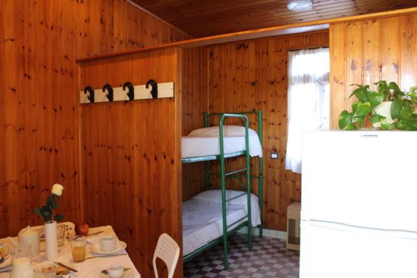 Domek Bungalow B6 -sypialnia