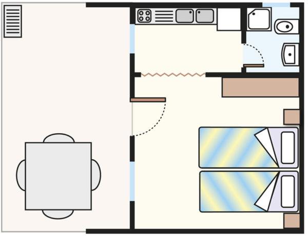 Plan domku Chalet C2