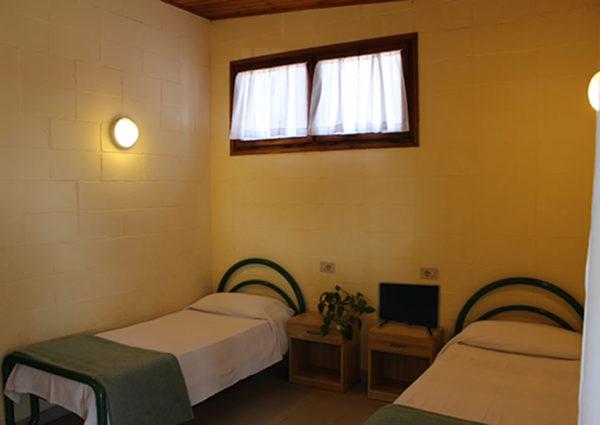 Domek Chalet C4 - sypialnia