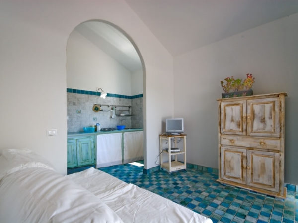 Domek Villini V6 - pokój i kuchnia