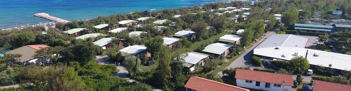 Domki na kempingu Rosapineta